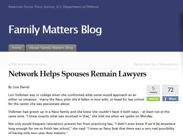 family matters blog